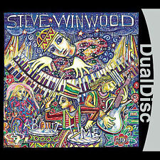 STEVE WINWOOD - About Time (CD/DVD Dual Disc, Epic) BRAND NEW, SEALED, VERY RARE
