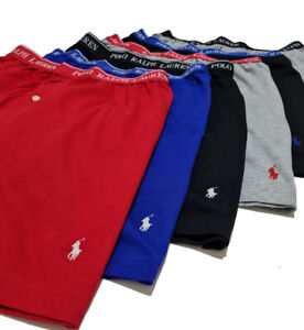 Polo Ralph Lauren Mens Classic Fit Boxers Wicking 6 Pack pouch S M L XL
