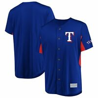 Men's Majestic Royal Texas Rangers Champion Choice Jersey