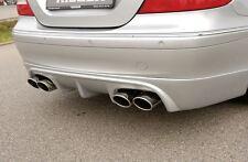 Rieger Heckansatz für Mercedes Benz CLK W209 Coupe/ Cabrio incl. Facelift