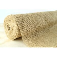 Burlap Hessian Roll Table Runner Cloth 50cm x 10m Jute Natural Fabric Material