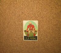 1958 Topps Football #86 Y.A. Tittle (San Francisco 49ers)