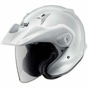 genevievpon ONLY ORDER ASIAN FIT Arai Open Face Helmet CT-Z  Glass white Lsize
