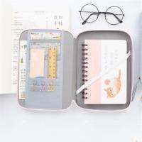 Pen Bag Kawaii Multifunction Portable Large Capacity Pencil Case Cosmetic Bags