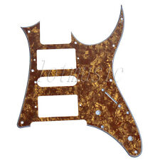 Cinnamon Pearl Electric Guitar Pickguard for Ibanez RG 250 replacement HSH 3 Ply
