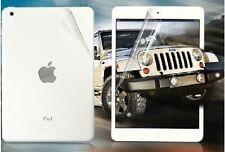 3 delantera 3 X Pantalla posterior X protectores Film cubierta para Apple iPad Mini 2 3 & Cloth