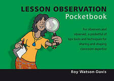 Lesson Observation (Teachers' Pocketbooks), Good Condition Book, Roy Watson-Davi