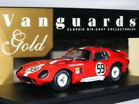 Vanguards Gold VG003051G Cobra Daytona Coupe 1965 Le Mans #59 LTD ED 1/43