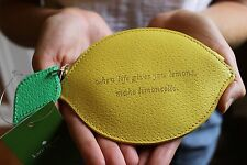 NWT Kate Spade When Life Gives You Lemons Make Limoncello Lemon Coin Purse CUTE!