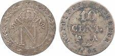 Premier Empire, 10 centimes à l'N couronné, 1808, Paris -  40