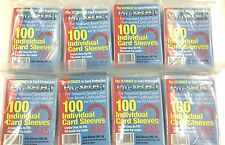 Pro-Select Single Card Soft Sleeves Pack (100)x 8-WIDER OR GUERNSEY CRICKET CARD