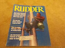 VINTAGE Rudder Magazine March 1970 - 130 Pages - My Ideal Blue Water Boat