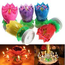 1pc Geburtstagskerze mit  Kerze mit Musik Fontäne Geburtstag Torten Deko