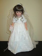 SUSAN WAKEEN FOREVER YOURS BRIDE DOLL BRUNETTE SIGNED LE 1500 BEAUTIFUL