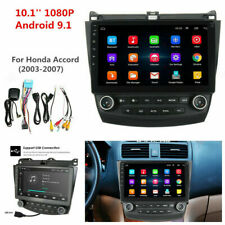 10.1'' Android 9.1 Quad-Core Car Stereo Radio GPS Nav For Honda Accord 2003-2007