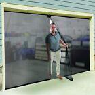 Instant Garage Screen Door Double 16x7ft Mosquito Fly Insect Protect Screendoor
