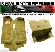 1982 PONTIAC FIREBIRD KNIGHT RIDER KITT K2000 CARPET COMPLETE W/O MASSBACKING