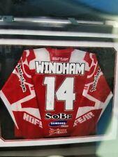kevin windham autograph framed jersey