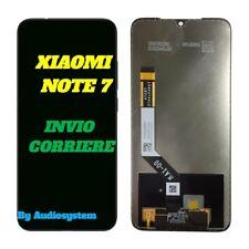 DISPLAY LCD TOUCH SCREEN XIAOMI REDMI NOTE 7, 7 PRO NERO VETRO M1901F7H M1901F7I