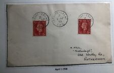1939 Crews Cardiff Scotland England Cover To Rotterdam Netherlands