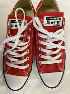 Red All Star Converse Classic Trainers UK Size 6 New Without Box (D3)