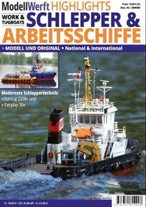ModellWerft Highlights Schlepper & Arbeitsschiffe