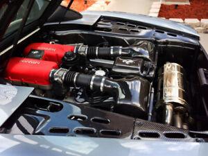 Ferrari 360 Carbon Fiber OEM Engine Bay Panels - Spider