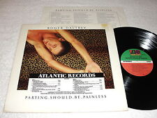 """Roger Daltrey """"Parting Should Be Painless"""" 1984 Rock LP, Nice EX!, Promo Cover"""