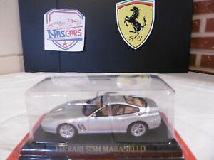 1/43 Ferrari 575 M Maranello argent IXO (no Porsche BMW 1:24)