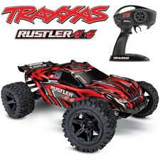 NEW Traxxas Rustler 4x4 Brushed RTR RC Truck RED w/o Batt/Charger FREE SHIPPING
