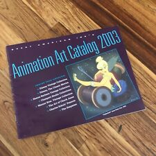 New ListingGreat American Ink Animation Art Catalog 2003
