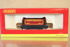 HORNBY R6684 HORNBY ROADSHOW 2014 6 PLANK MINERAL WAGON MINT BOXED ni
