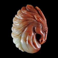 Hand Carved Unicorn Pendant Bead GC900000