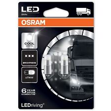 OSRAM T4W LED Cool White PREMIUM 3850CW-02B Interior Lighting 12V 1W 6000k Twin
