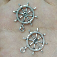 10pc Tibetan Silver mechanical gear Pendant Charms Bead Findings Accessories