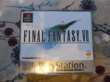 Final Fantasy VII 7 (Sony Playstation 1, 1998) - PLATINUM COMPLETO