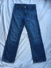 HILFIGER Boys Denim Jeans 12y Straight Leg Mid Blue Used Good Bargain