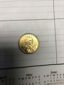 American One Dollar 2000 Sacagawea Rare Coin In Mint Condition
