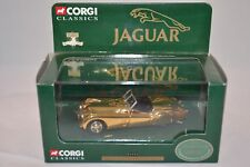 Corgi 02903 Jaguar XK120 Gold Plated 1:43 mint in box