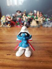 Custom Christmas Ornament PVC PEYO Smurfs Schleich Cosplay Superhero Smurf
