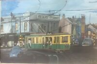 1958 O Class Tram Sydney - Original Hand Painted Acrylic Painting On Canvas