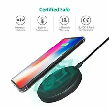 Fast Wireless Charger RAVPower 7.5W Compatible iPhone 11 Pro Max/Xs/XR/XS/X/8/8