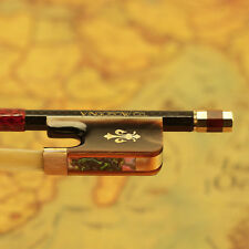4/4 Full Size Red Ox Horn Frog Carbon Fiber Cello Bow