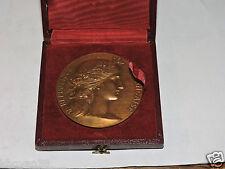 Médaille République Française graveur Dupuis vers 1958 Préfet de la Seine Paris