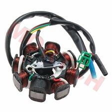 GY6 50cc 125cc 150cc 8 Pole Stator 5 Wires Magneto For Scooter Motorcycle Moped
