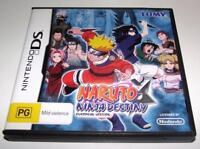 Naruto Ninja Destiny Nintendo DS 2DS 3DS Game *Complete*