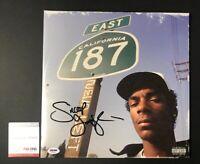 Snoop Dogg Signed  Neva Left  LP Record Album Vinyl FULL SIGNATURE PSADNA COA