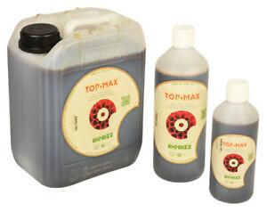 BIOBIZZ Top Max Organic Flowering Bloom Stimulator Nutrient 1 5 & 10 Litre Hydro