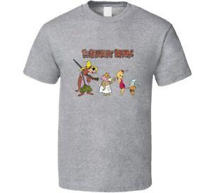 The Hillbilly Bears Classic Vintage Cartoon Old School Throwback Rare Shirt