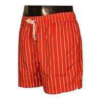 SUN 68 - Boxer/Costume Mare - STRIPES - 446 - Colore Rosso - Taglia XL